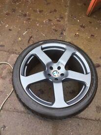 """BMW 22"""" alloy wheel"""