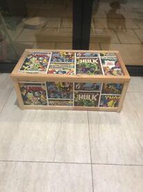 Super hero / marvel toy box