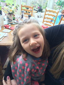 Nanny required to help lovely 6yr old girl with cerebal palsy in Nailsworth area