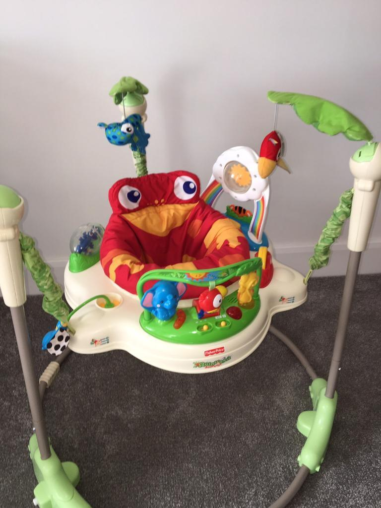**SOLD** - FISHER PRICE JUMPEROO - EX COND