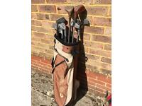 Taylor Made Golf Bag and clubs