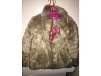 Next SP fur coat 2-3