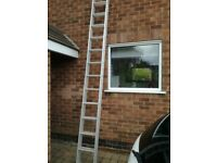 DOMESTIC ALUMINIUM EXTENDING LADDERS - COLLECTION ONLY £70 ONO