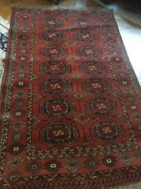 Beautiful afghan rug