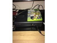 Xbox360 slim 250 gig with FIFA 17