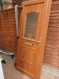 Light Oak Front door
