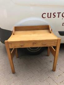 Stylish solid oak dressing table / desk * free furniture delivery *