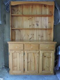 Honey Coloured Solid Pine Dresser.