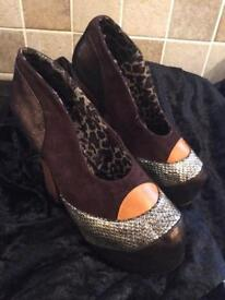Irregular choice shoes size 4 new