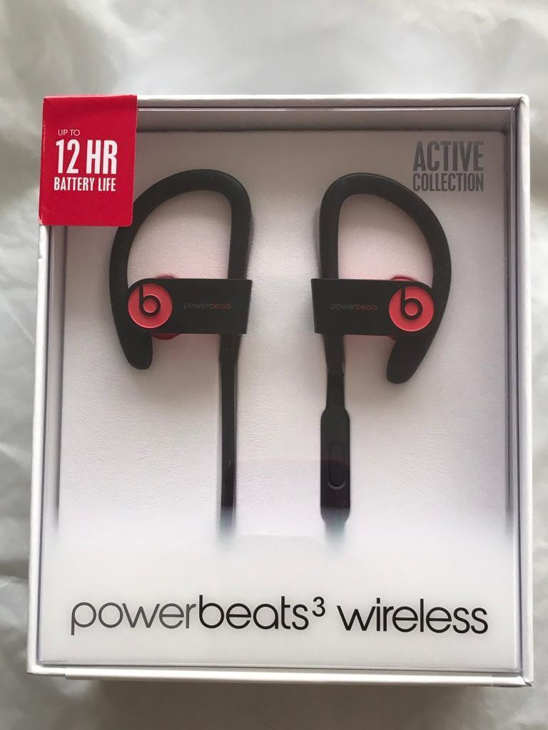 BNIB Sealed 100% Authentic Powerbeats 3 by Dr Dre