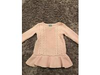 Baby gap girls knitted dress 6-12 months