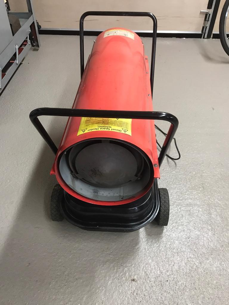 Draper 30kw space heater