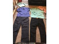 Bundle men's clothes hugo boss D&G 6 items used in good condition £25