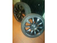"VW T5 20"" Alloy Wheel and tyres"