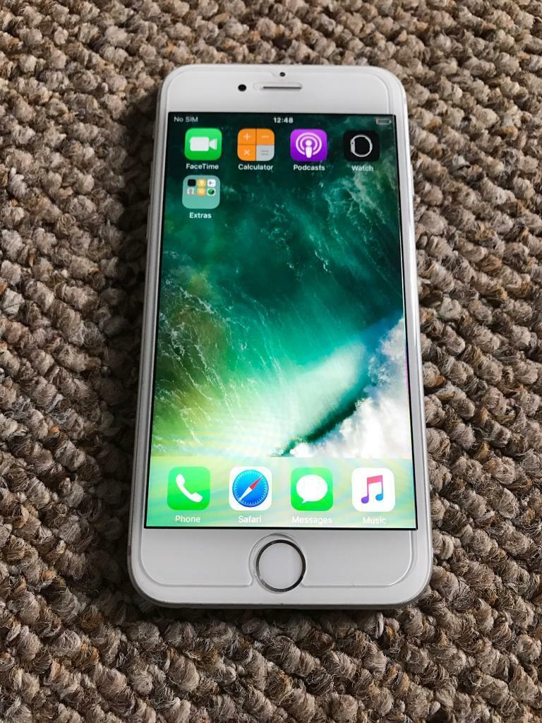 iPhone 6s 64gb silver 02/giffgaffin Stoke on Trent, StaffordshireGumtree - iPhone 6s 64gb silver 02/giffgaffHere I have a iPhone 6s 64gb very good condition fully working has a temper glass all original everything working including finger print scanner.. as most on here have had there screen changed and finger scanner dont...