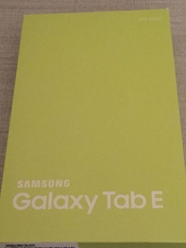 """Samsung Galaxy Tab E 9.6"""" 16GB Black SM-T560NZKUXAR"""
