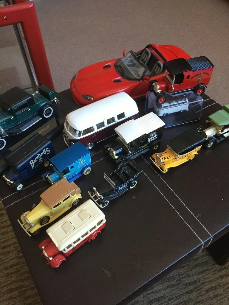 Diecast model car collection,13 various sizes,1978-2015 | in Leven, Fife |  Gumtree
