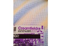 Creamfields sunday gold tickets