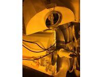 Grow lights, air cool lights, ballasts, bulk clearance, all working