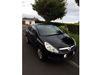 2007 VAUXHALL CORSA 1.2 CLUB BLACK EXCELLENT CONDITION FOR AGE, IDEAL FIRST CAR!