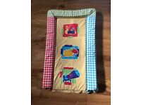 baby changing mat, bath tube and 2x toilet training seats