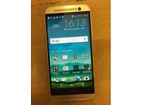HTC M8, Unlocked,16GB,With Warranty