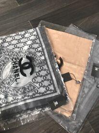 Chanel scarf / shawl 3 colours ...