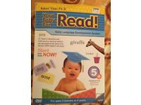 Baby can read early language development system