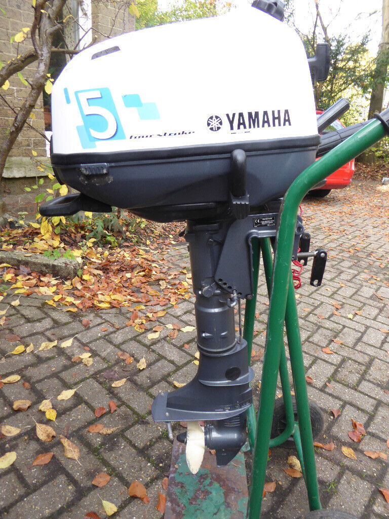 Outboard motor, Yamaha 4 stroke 5HP for spares or repair | in Dorchester,  Dorset | Gumtree