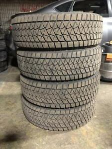 235 65R 18 235 60R 18 BRIDGESTONE BLIZZAK DM-V2 WINTER SNOW TIRES FORD EXPLORER IN EXCELLENT CONDITION