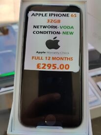 APPLE IPHONE 6S 32GB VODA/LEBARA BRAND NEW 12MONTH APPLE WARRANTY