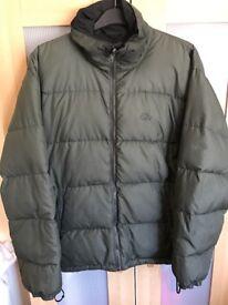 Lowe Alpine 'Full Down' reversible coat
