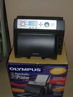 Olympus Camedia P-400 Dye- Sublimation Photo Printer