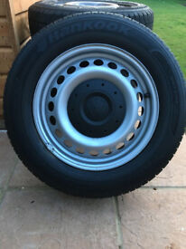 Volkswagon Transporter Wheels and Tyres Set of 4