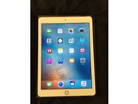 Apple iPad Air 2, gold, one month old, basically brand new, comes with case, charger, reciept!