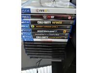 PS4 with 8 games