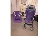 Graco Pram and Baby Weavers Car seat