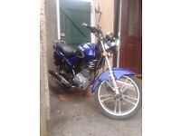 kymco pulsar ck125 2011 reg 1 owner from new sell or swap