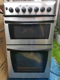 Dual fuel cannon cooker electric oven gas hob delivered and installed today