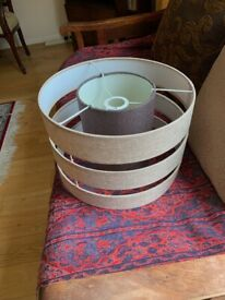 Layered Lampshade in Brand New Condition