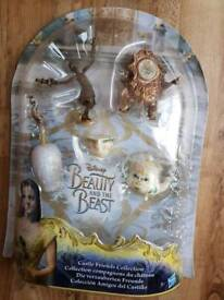 Disney Beauty & the Beast Castle Friends Collection BRAND NEW