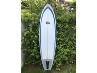 Tuflite Randy French 'Mac-Fish' 7'2 surfboard