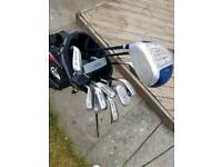 Full set of golf clubs and bag Dunlop