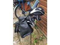 Dunlop golf clubs for a junior/child (8-12yrs?)