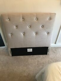 Single crystal headboard
