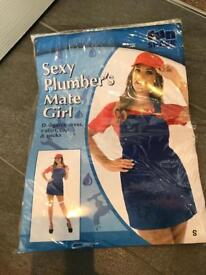 Mario ladies fancy dress costume