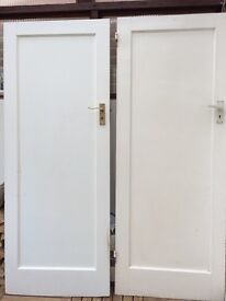 2 x Original Internal 1930s Doors