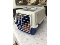 Cat carrier with top and front opening