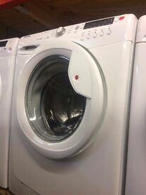 HOOVER 9KG 1400 SPIN WASHING MACHINE WHITE RECONDITIONED