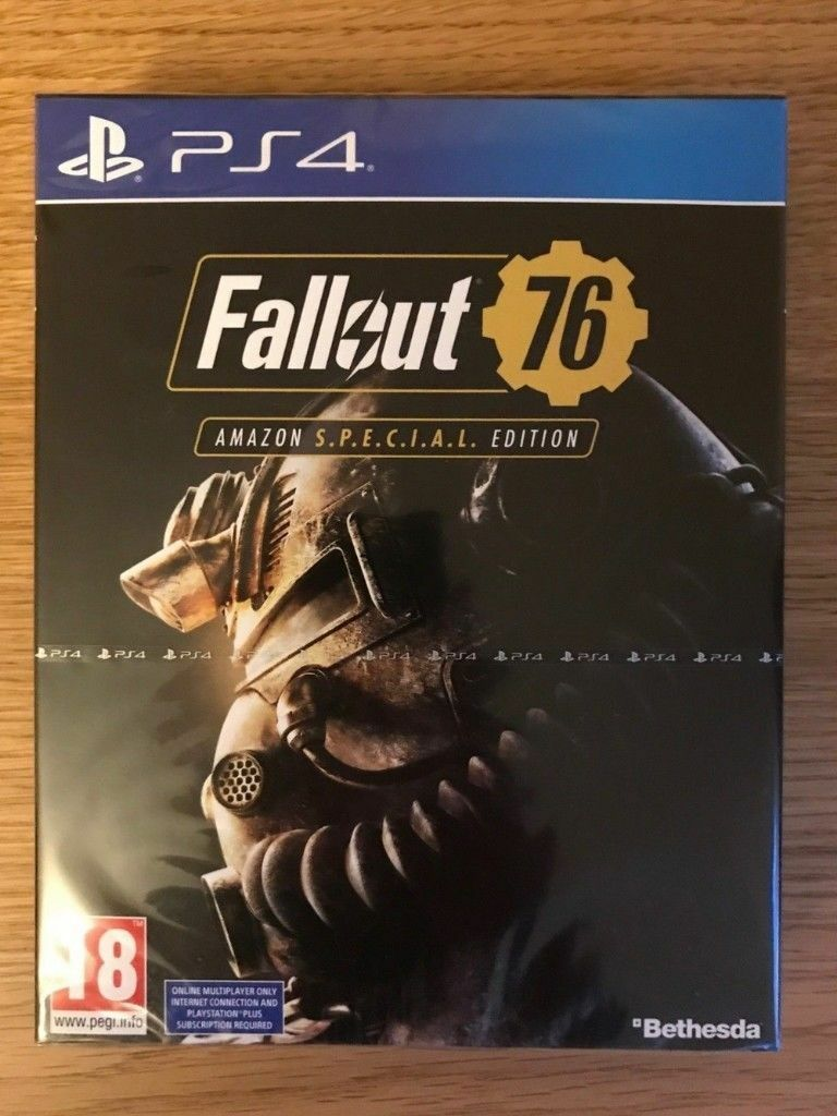 Fallout 76 Special Edition Sony Playstation 4 Game Brand New And Skyrim Ps4 Sealed Amazing Adventure
